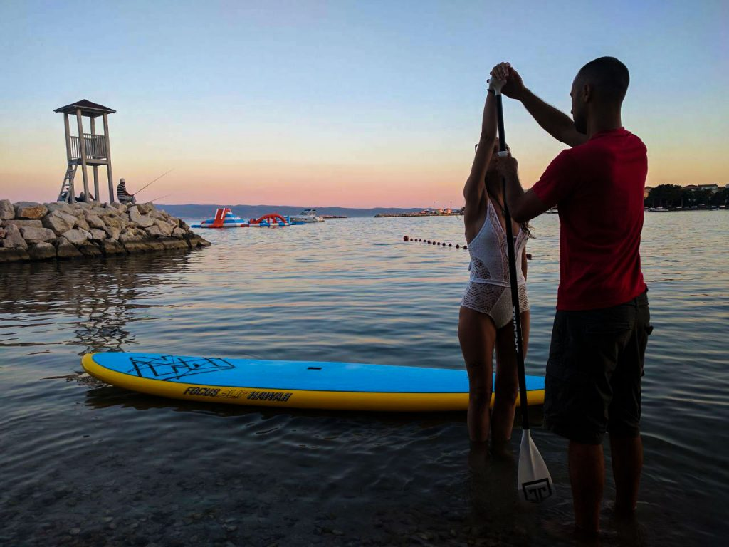 sea sup in split by Adriatic-SUP
