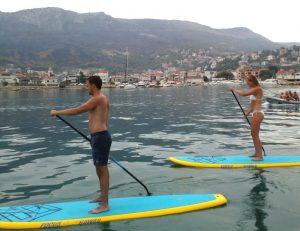 Paddleboarding Split