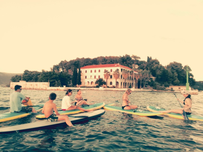stand up paddleboarding split Adriatic SUP