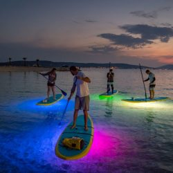 sup split glow paddle board led - SUP Center Split, Adriatic-SUP