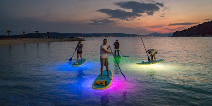 sup split glow paddle board led - Sup Center Split, Adriatic-SUP