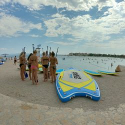 Girls Sup Paddling Split; Adriatic-SUP