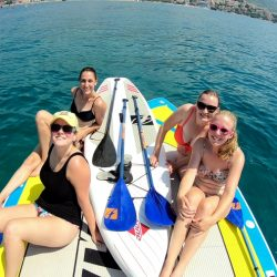 Split sea paddling with Adriatic SUP
