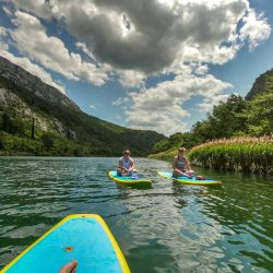 Cetina river sup boarding with Sup Center Split