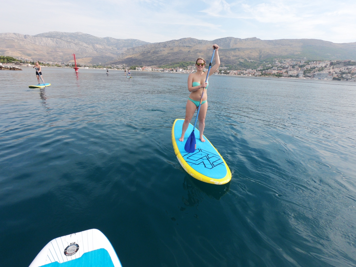 Paddling around Split