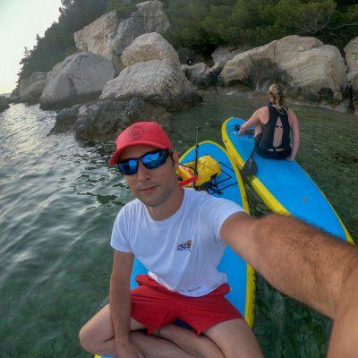 Marino Sup Center Split, Standup Paddleboarding tour