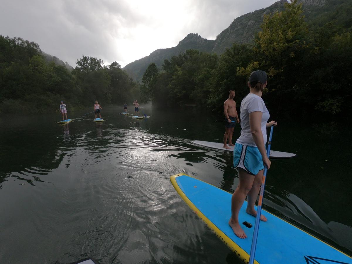 standup paddle boarding in croatia