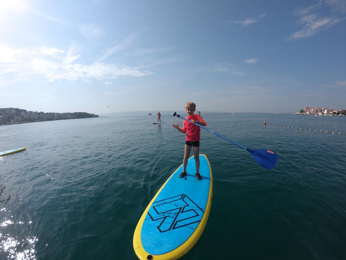 standup paddling teaching