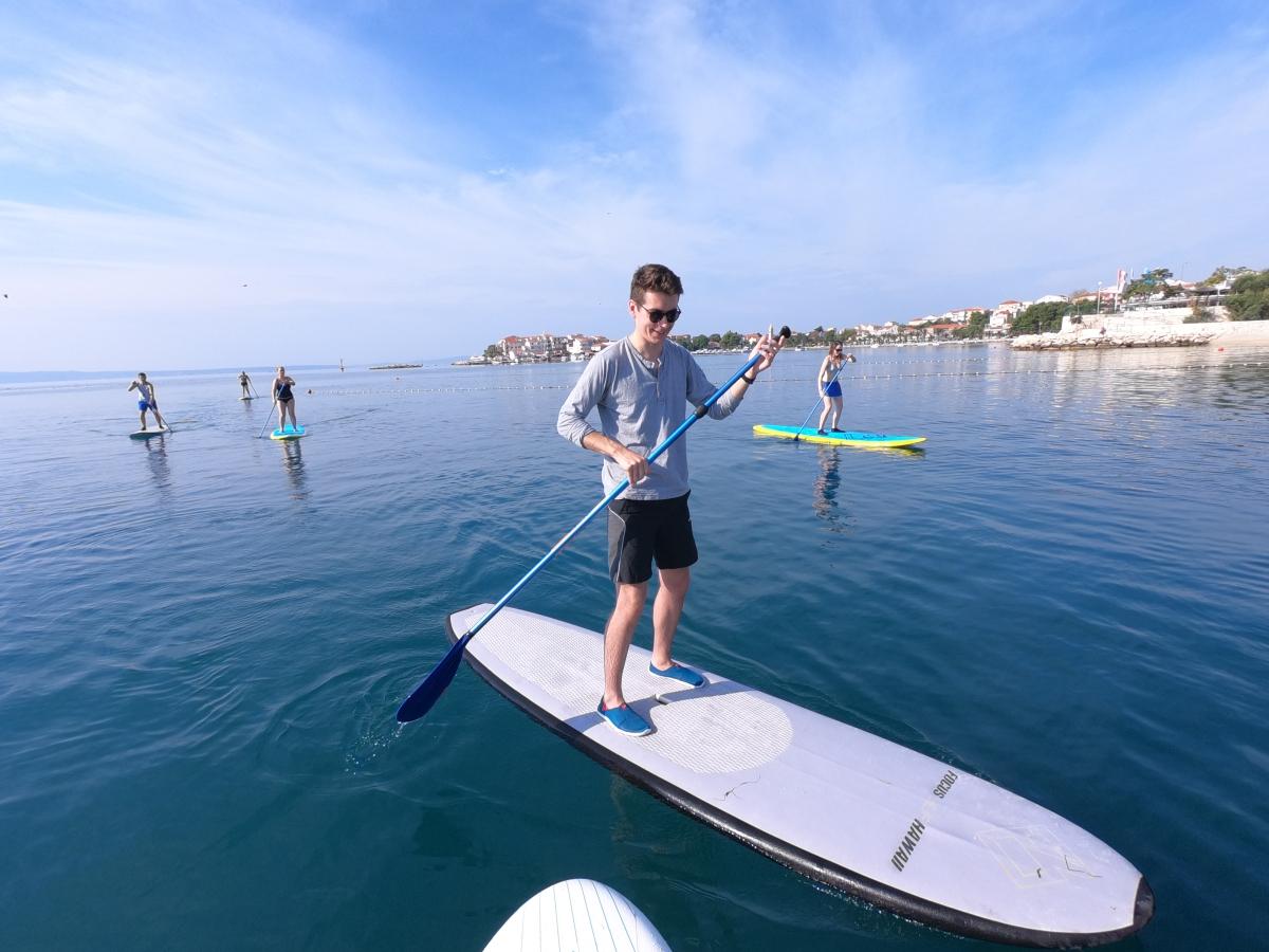 stobreč paddleboarding tour split