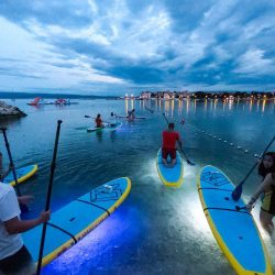 Split Paddle board lights