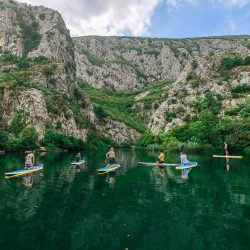 stand up paddleboarding Croatia